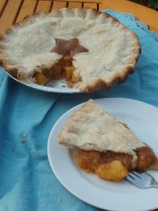 Brown Sugar and Cardamom Peach Pie